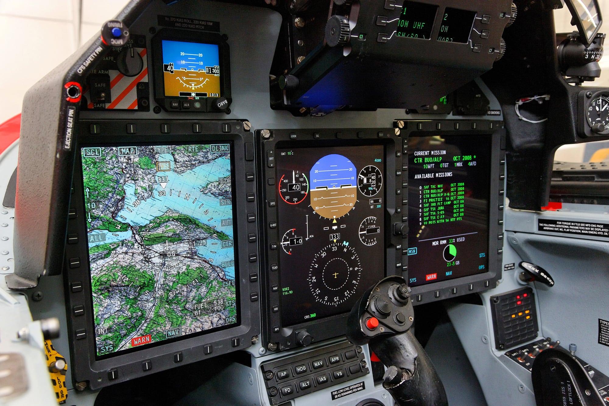 PC21 Flight Display