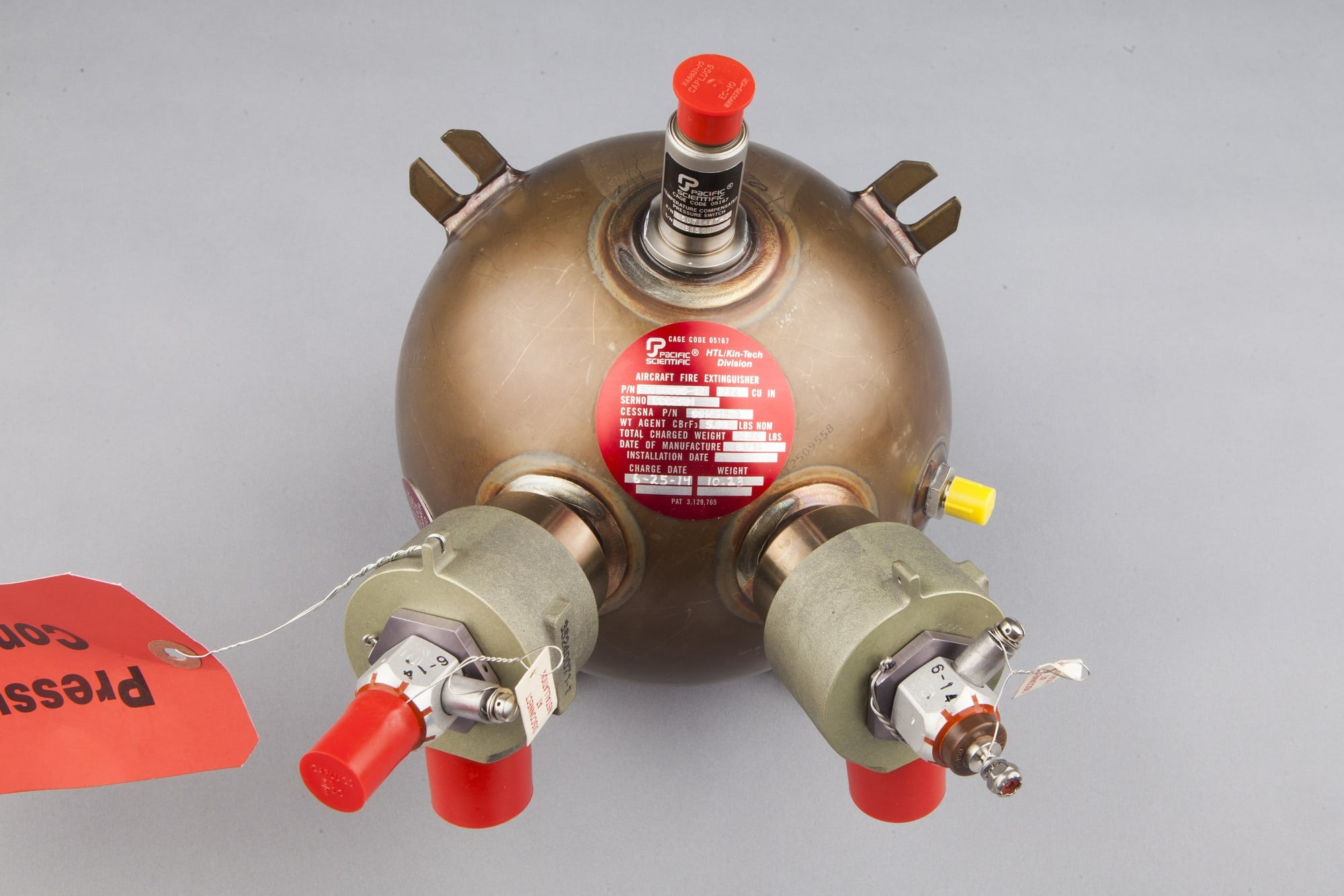 Meggitt fire extinguisher