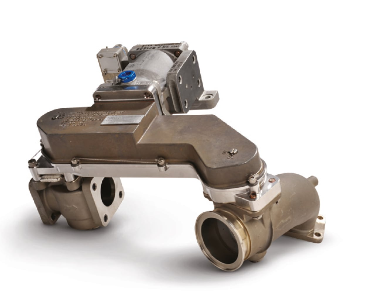 Whittaker Controls ball valves by Meggitt