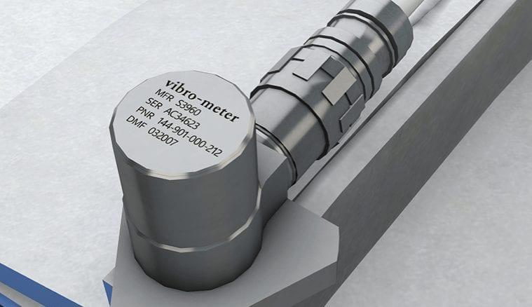 ENDEVCO MEGGITT ACCELEROMETER 7703-50 SENSOR VIBRATION CALIBRATION  BIN#R3-16